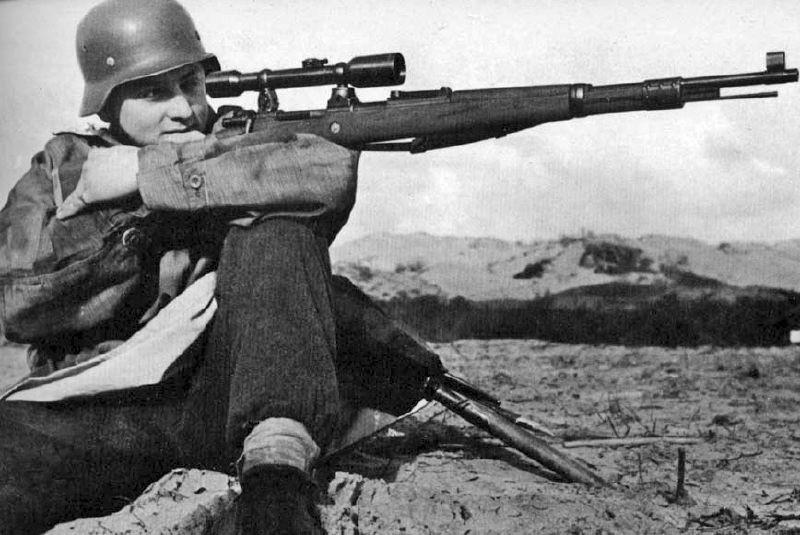 немецкий снайпер вов