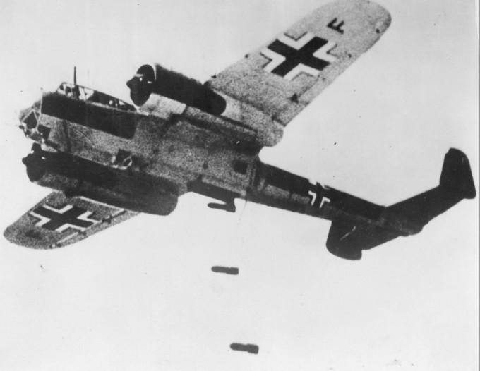 Немецкий бомбардировщик