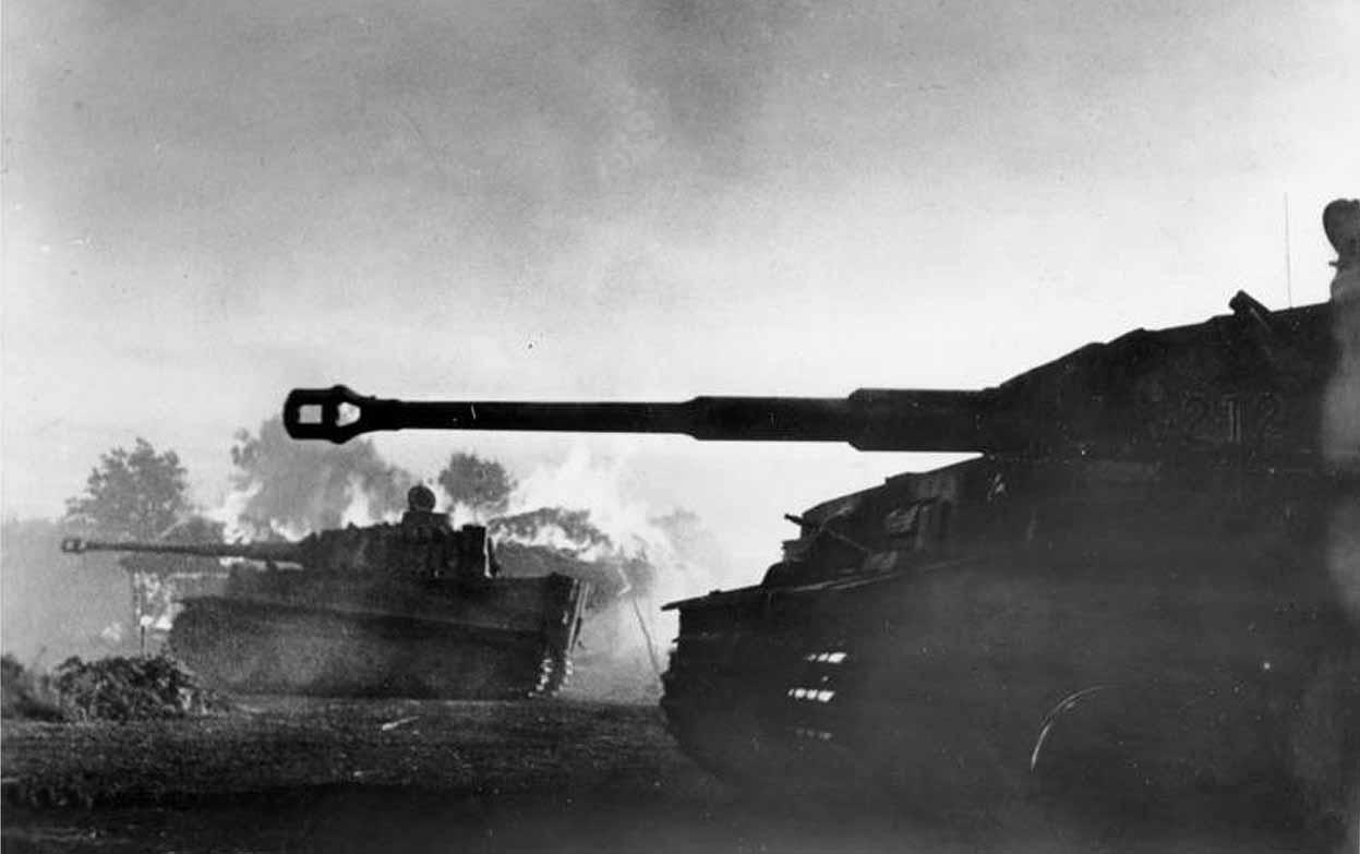 Наступление танков тигр ВОВ