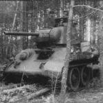4 тридцатьчетверки в глубоком тылу немцев