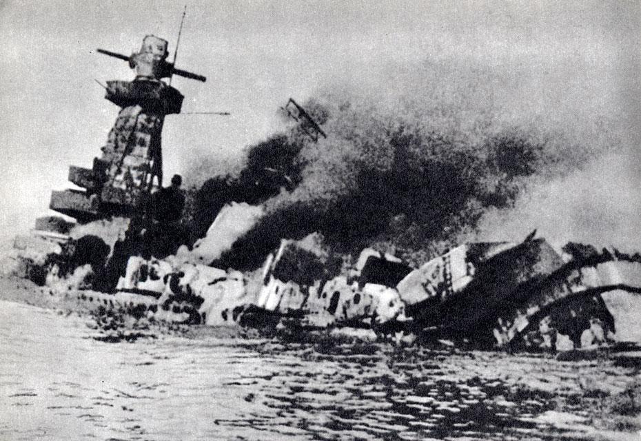 Таран немецкого судна ВОВ