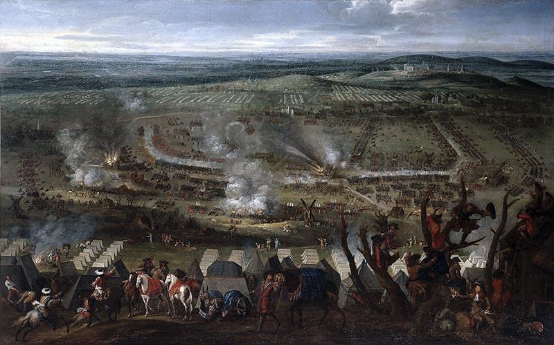 армия во главе с Филиппом Орлеанским