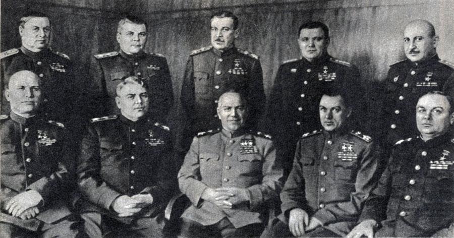 Генералы ВОВ