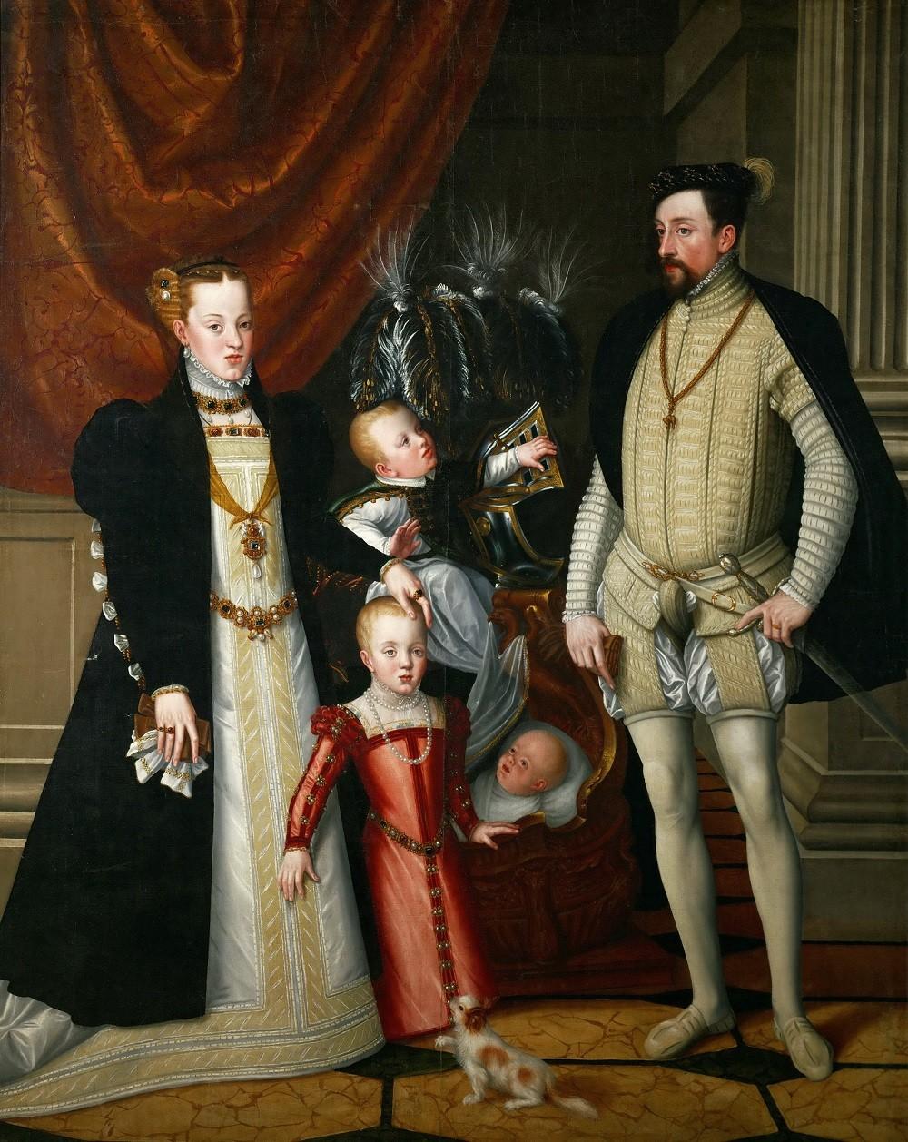 Максимилиан II и его семья
