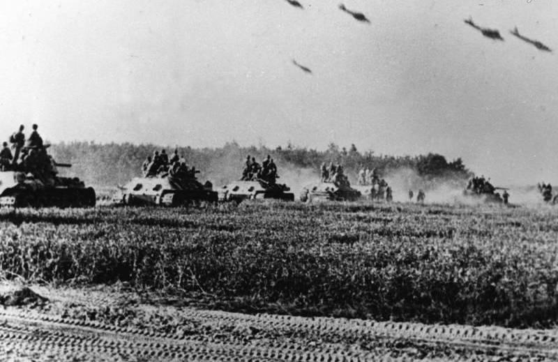 Т-34 на Курской дуге