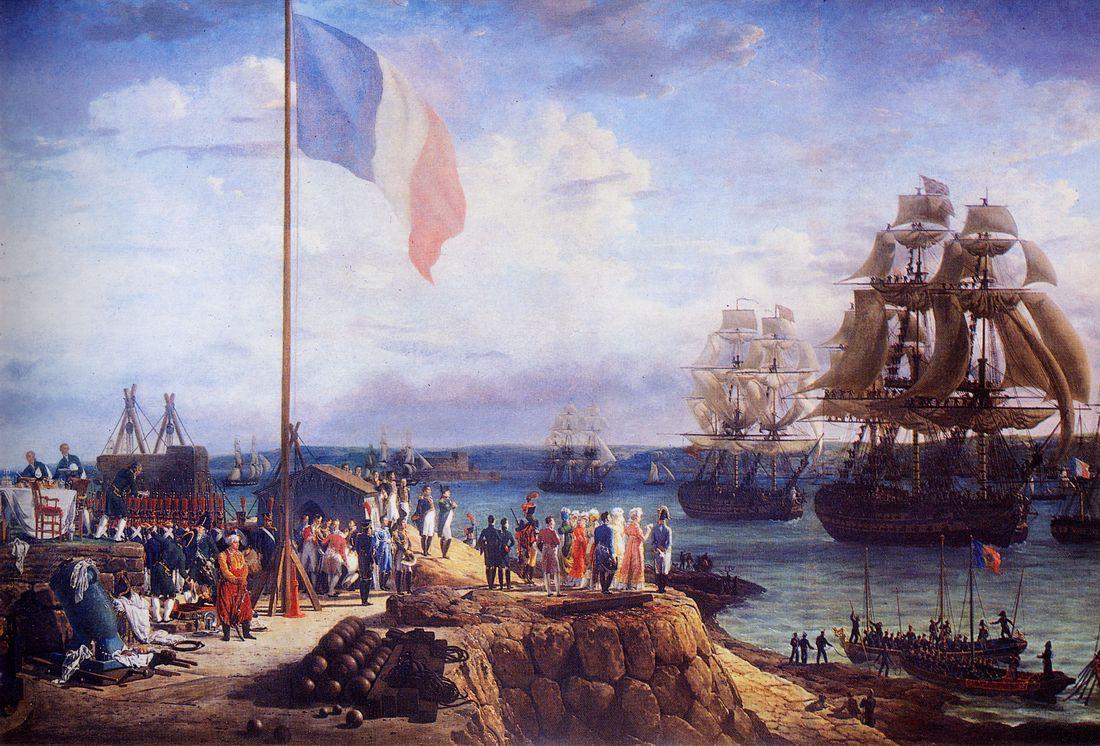флот франции 17 век