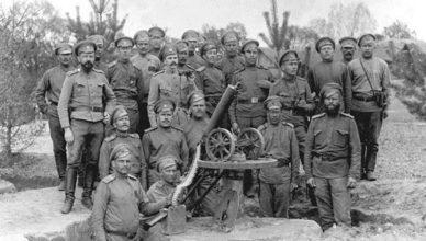 Русские на первой мировой войне