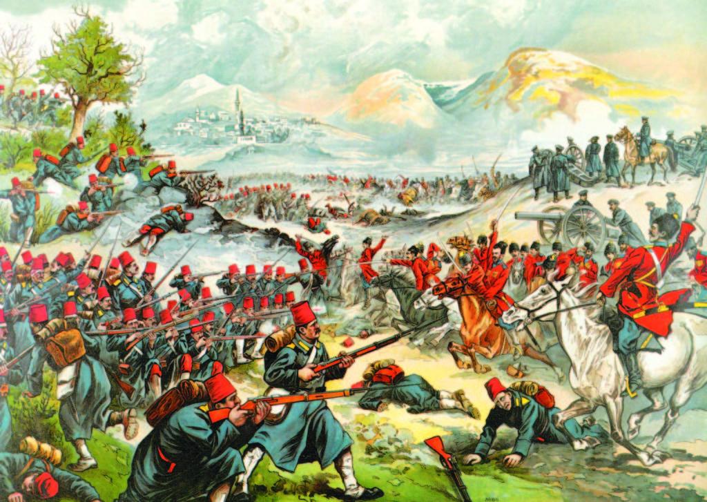 Хусейн-паша бежит с войсками