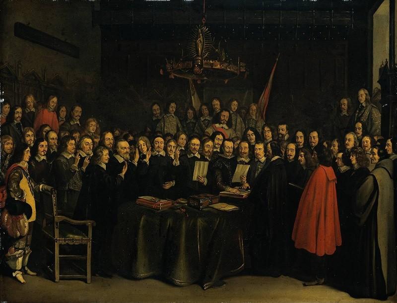 Заключение Вестфальского мирного договора