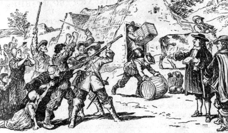 крестьянское восстания во франции 17 век