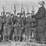 Тяжелейшие бои 161-ой дивизии
