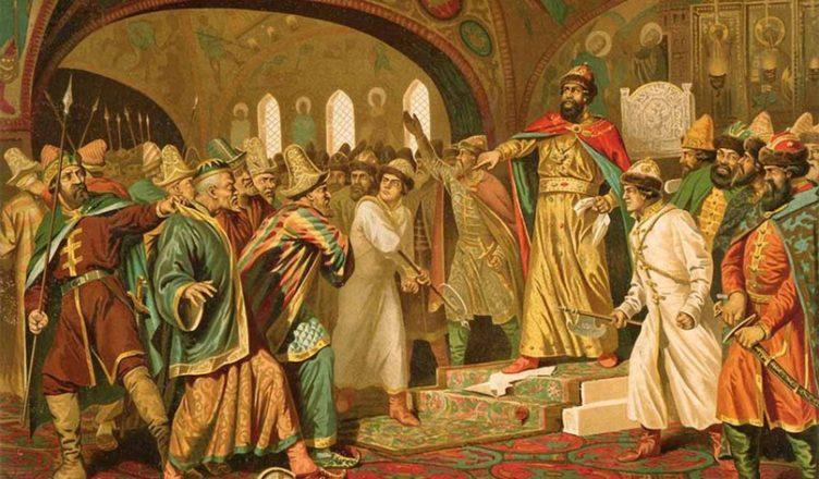 хан Ахмат и Иван III
