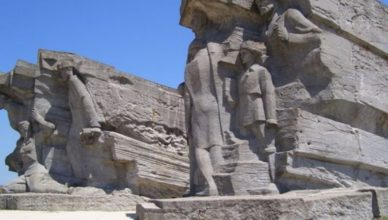 памятник аджимушкай