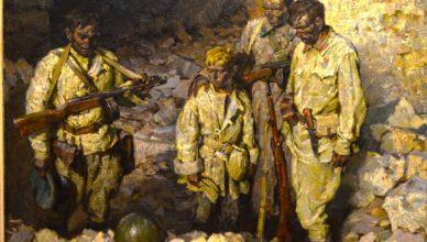 Солдаты в аджимушкае