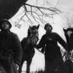Конная разведка в немецком тылу