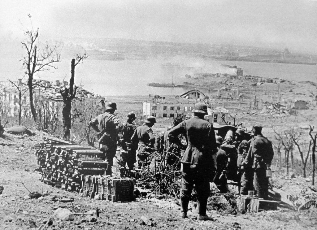 Немцы под Севастополем ВОВ