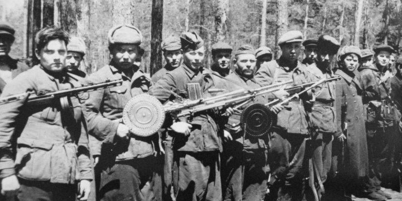 Вооруженный отряд партизан