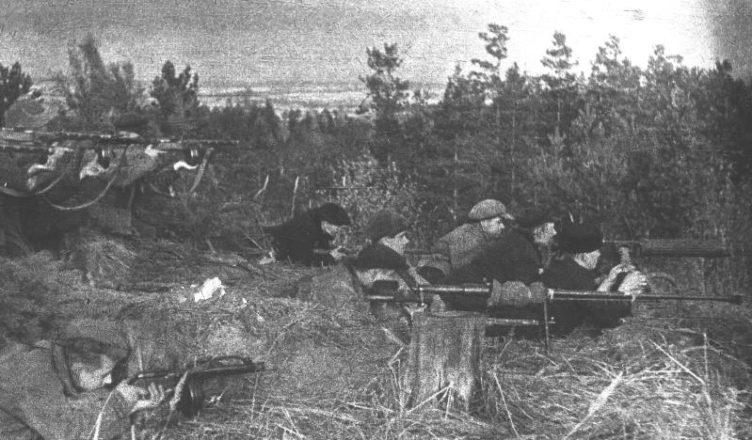 партизаны советские