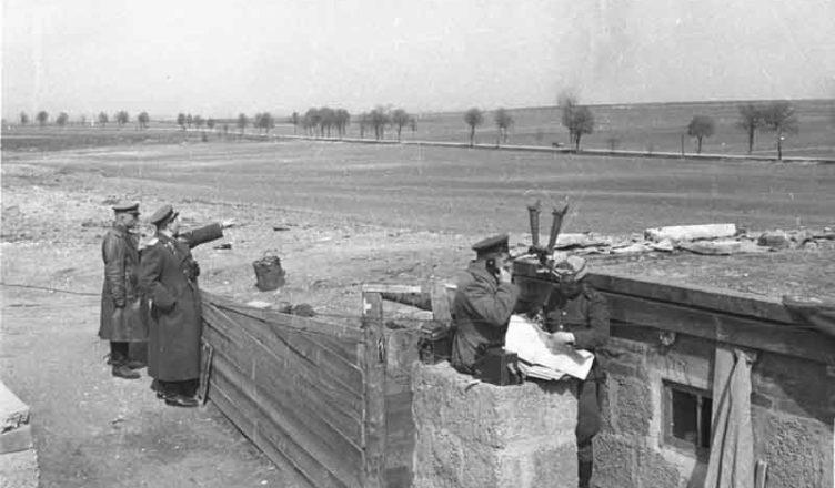 передовой советский командный пункт вов