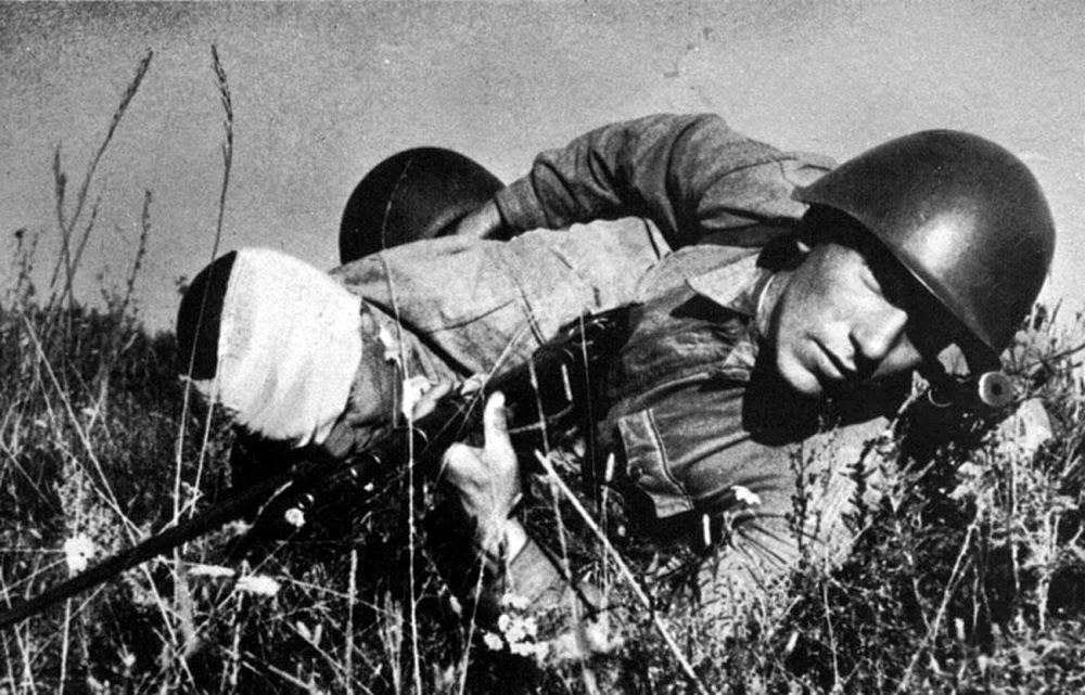 раненый солдат в лицо вов