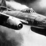 Первый сбитый реактивный самолет немцев