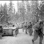 Один против 3 немецких танков