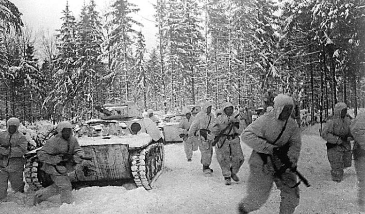 Война зима 1945