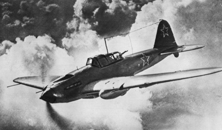 советский самолет