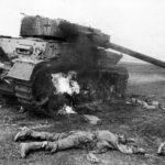 подбитый немецкий танк