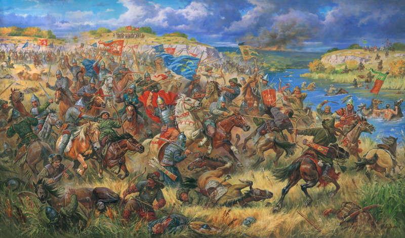 Войска при куликовской битве