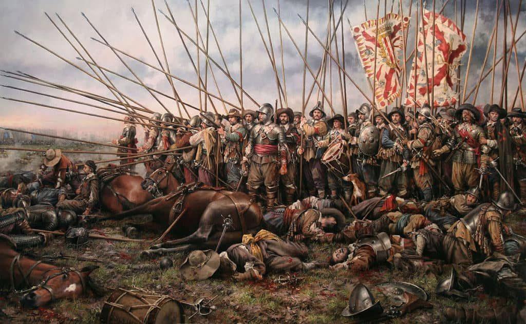 Войска Каталонии 1700 год