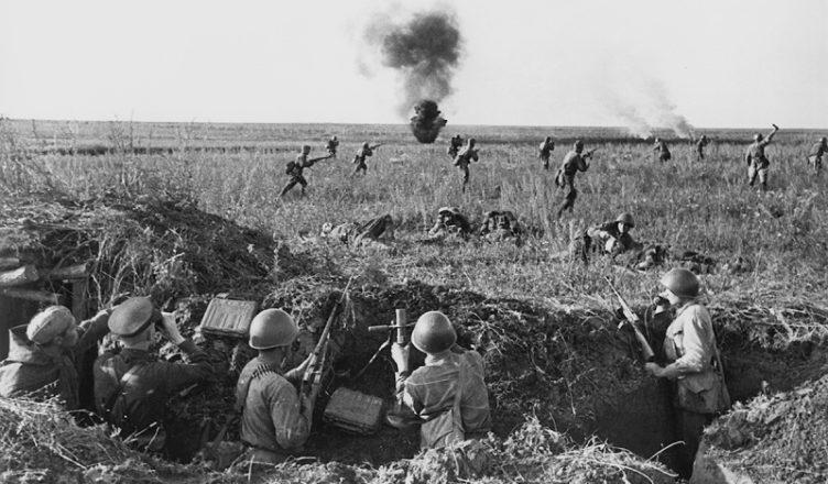 Наступление советских войск ВОВ