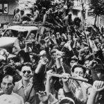 Братание болгарского народа с советскими воинами