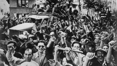 Болгары рады освобождению от фашистов ВОВ