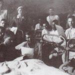 Солдаты в госпитале ВОВ