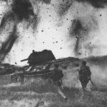 Наступление советских войск во главе т-34 ВОВ