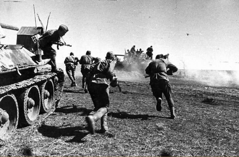 Освобождение Донбасса советскими войсками ВОВ
