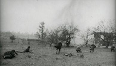 Партизаны идут в атаку ВОВ