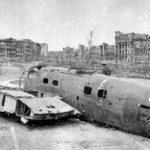 Сбитый самолет в Сталинграде ВОВ