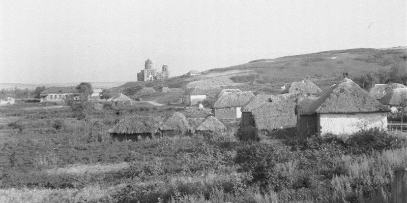 Село с церковью ВОВ