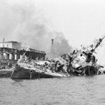 Корабль тонущий в бухте Севастополя ВОВ