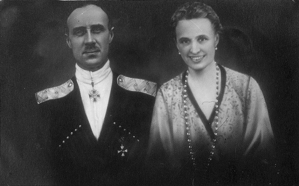 Врангель с женой