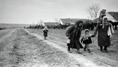 Советская деревня во время войны