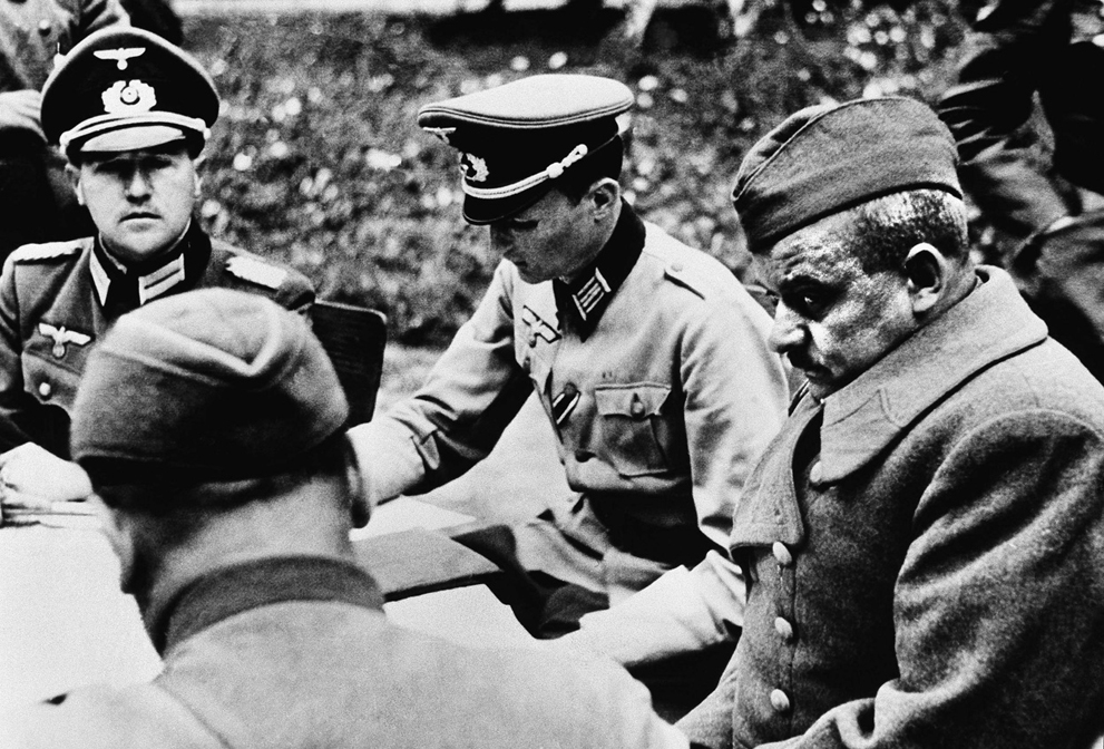 Немецкие офицеры ВОВ