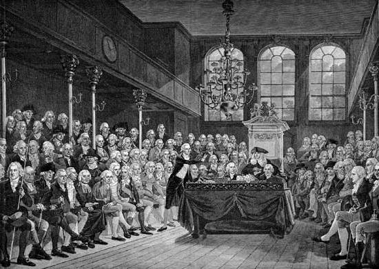 Английский парламент 19 век