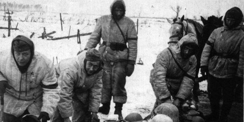 Солдаты в Городокской операции 1943 год ВОВ