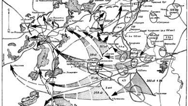 Карта Невельской наступательной операции ВОВ