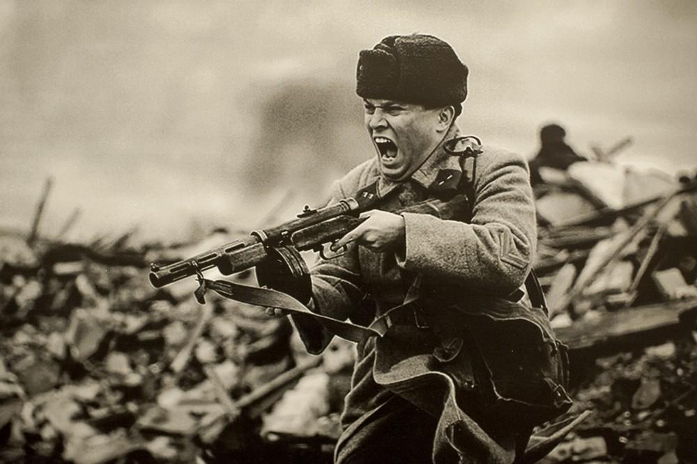 Советский солдат реконструкция ВОВ