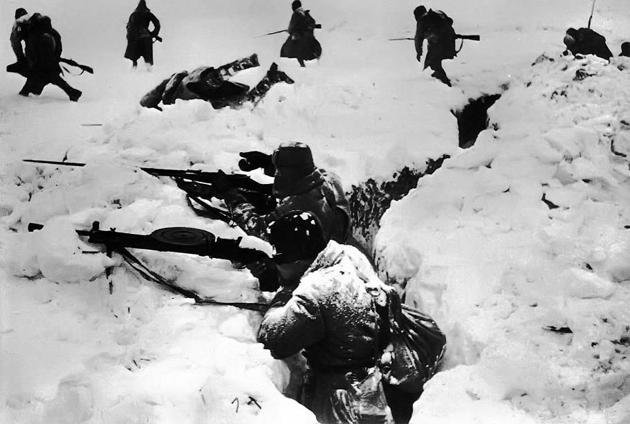 Пулеметчики Ноябрь 1943 года