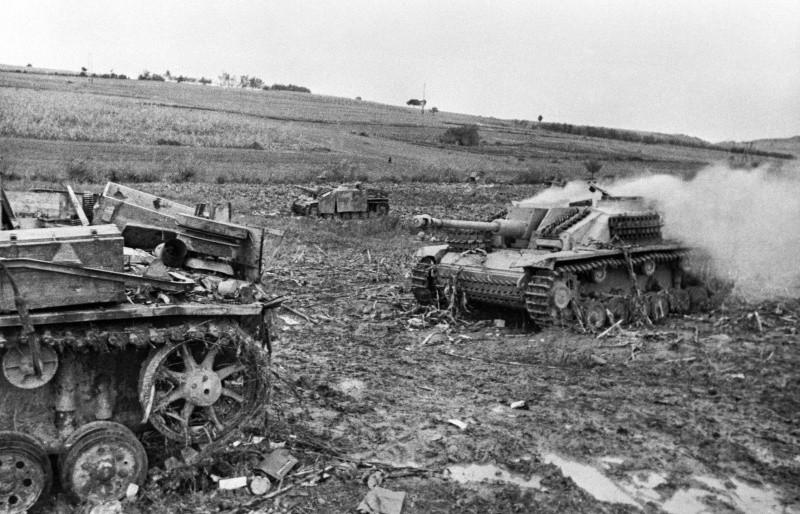 Подбитые танки штуг ВОВ